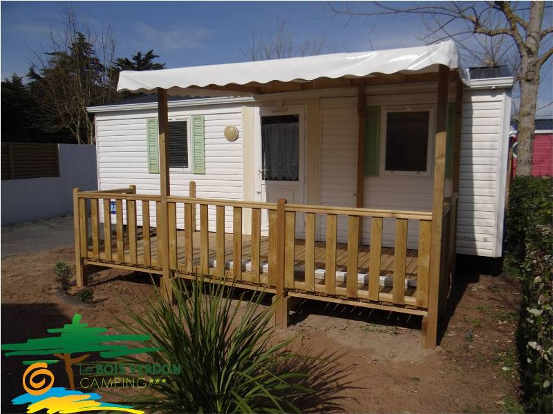 Mobilhome IRM Super Mercure 2 bedrooms – wood covered terrace